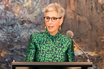 The Governor of Victoria, the Hon. Linda Dessau AC