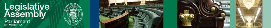 Legislative Assembly - Parliament of Victoria