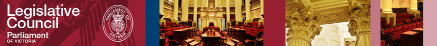 Legislative Council - Parliament of Victoria