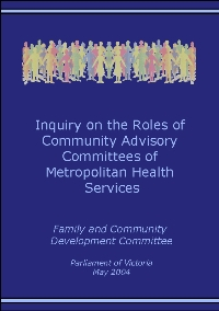 Community Advisory Committees Report