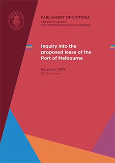 Inquiry into the proposed lease of the Port of Melbourne