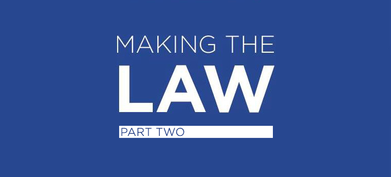 Making the law pt2