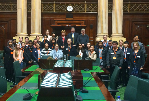 Final workshop at Parliament House