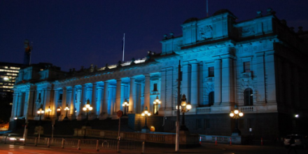 ParliamentHouseUNBlue