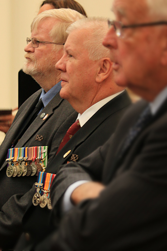 Vietnam veterans commemorated at Parliament House